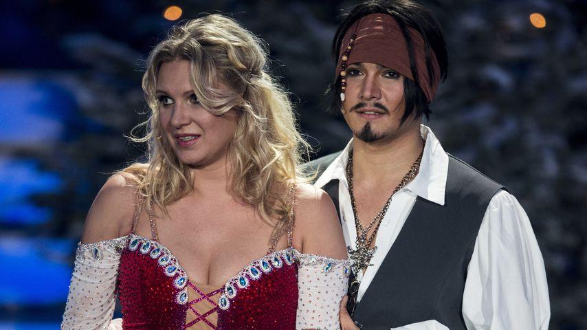 Magdalena Brzeska and Erich Klann beim Finale von Let's Dance