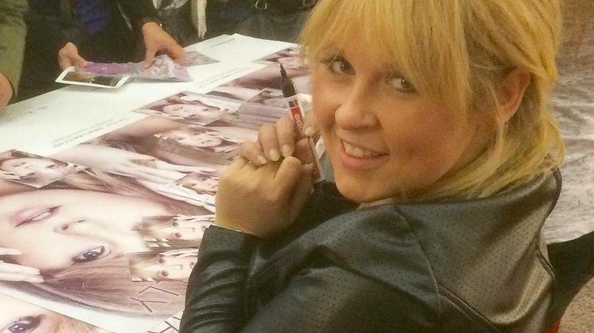 Maite Kelly bei einer Autogrammstunde