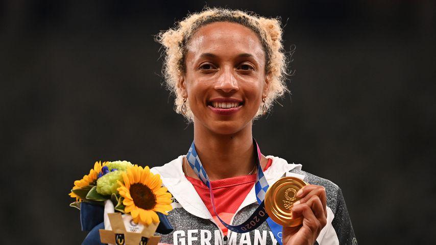 Malaika Mihambo, Olympia-Siegerin im Weitspringen
