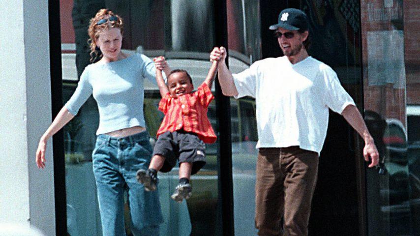 Mama Nicole Kidman, Sohn Connor und Papa Tom Cruise