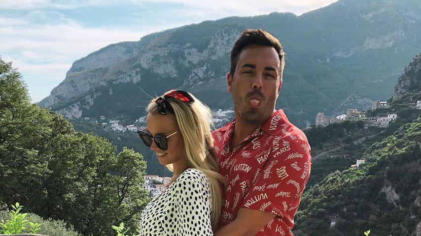 Mandy Lange mit ihrem Mann