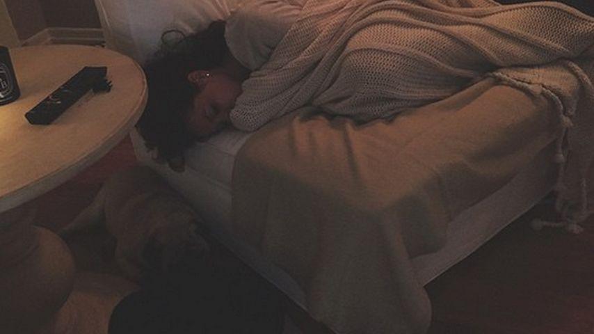 Burn-out? Mandy Capristo ist total erschöpft