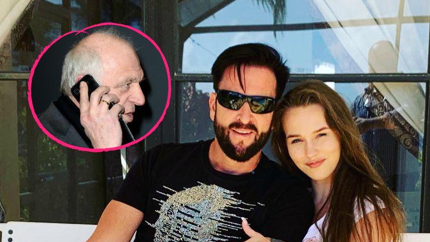 Reine Lüge? Wendlers Vater glaubt nicht an Liebe zu Laura!