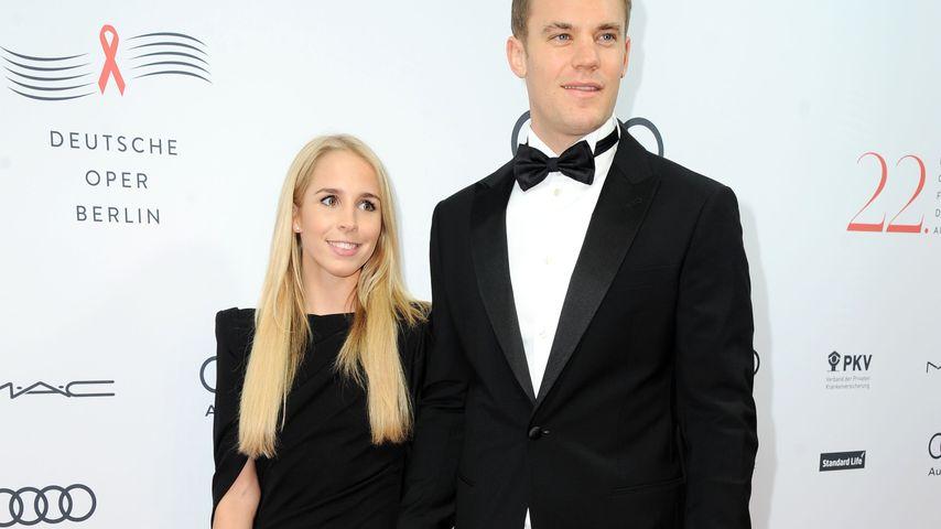 Manuel Neuer und Nina Weiss