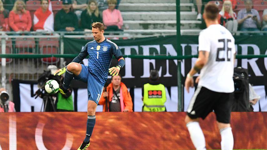 DFB-Kapitän mit an Bord: Manuel Neuer ist fit für die WM