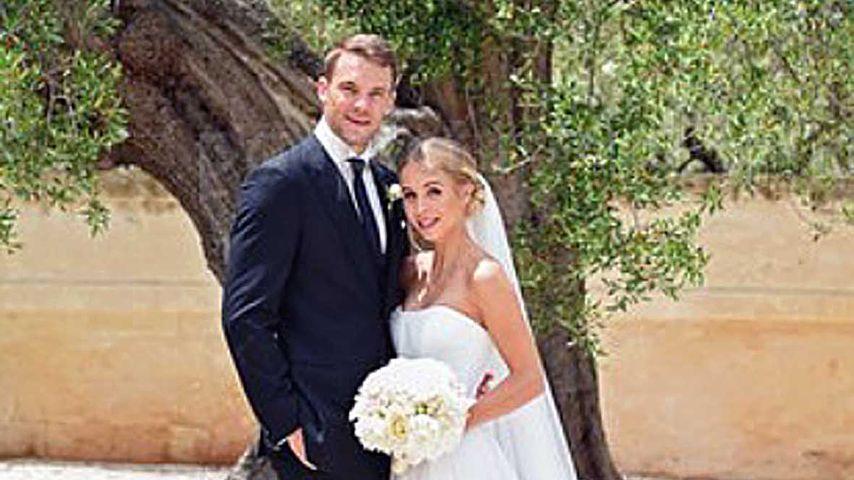 1. Bilder vom Brautkleid: So schön war Manuel Neuers Nina