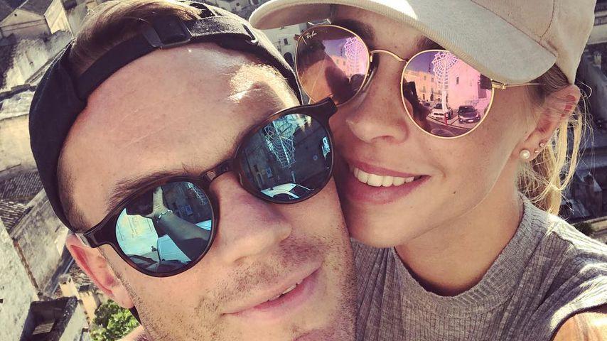 Nach WM-Aus: Erstes Pärchen-Selfie von Manuel und Nina Neuer