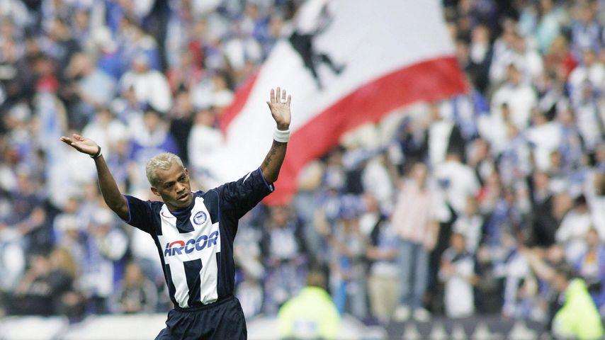 Marcelinho beim Spiel zwischen Hertha und Schalke 2005