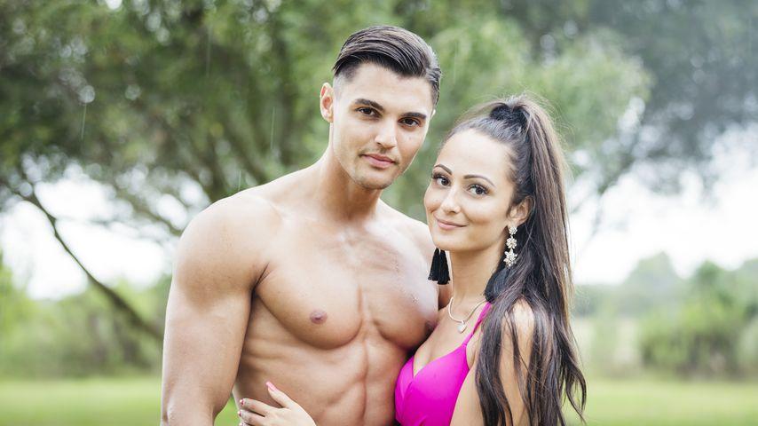 "Marcellino Kremers und Tracy Candela bei ""Love Island"""