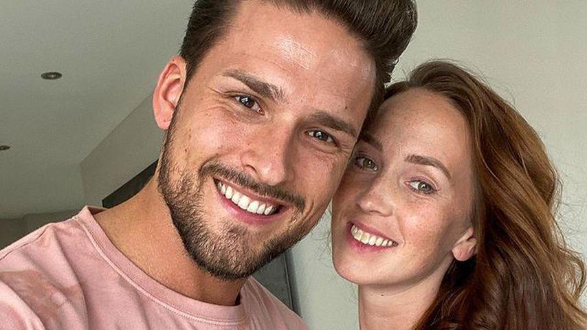 Marco Cerullo und Christina Graß im Januar 2021