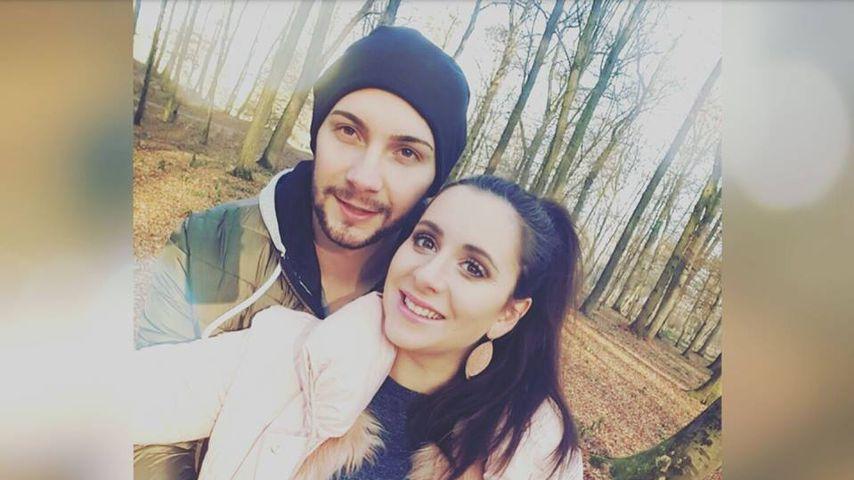 Marco Lombardi und seine schwangere Verlobte Valeria