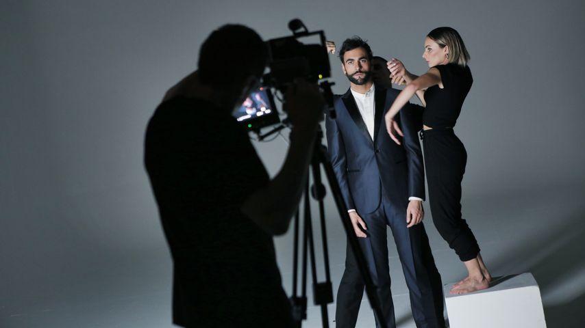 """Marco Mengoni beim Videodreh zu """"Ricorderai l'Amore"""""""