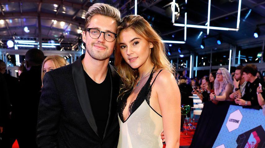 """Marcus Butler und Stefanie Giesinger bei den """"MTV-Europe-Music-Awards"""" 2016 in Rotterdam"""