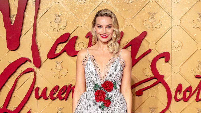 """Margot Robbie bei der """"Mary Queen of Scots""""-Premiere"""
