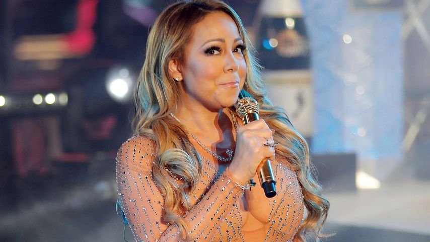 Mariah Carey an Silvester 2016 am Times Square