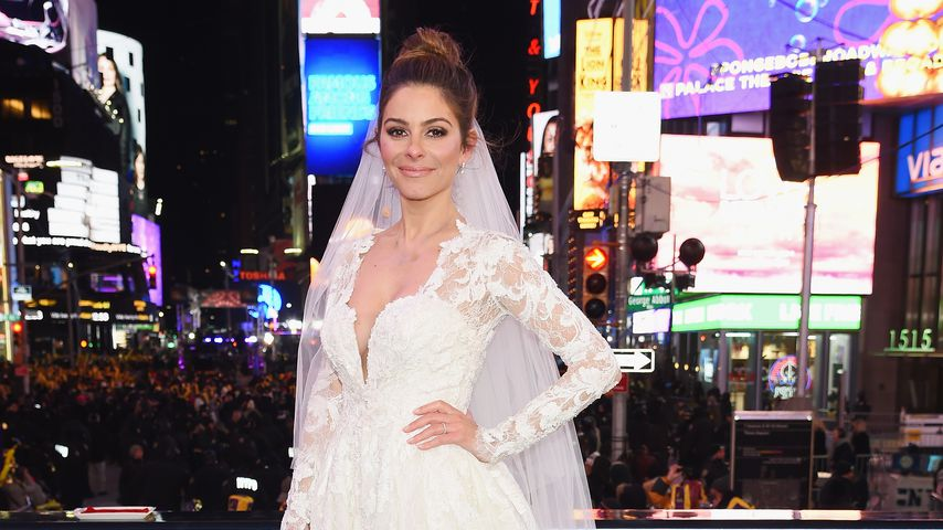 Maria Menounos an Silvester am Times Square