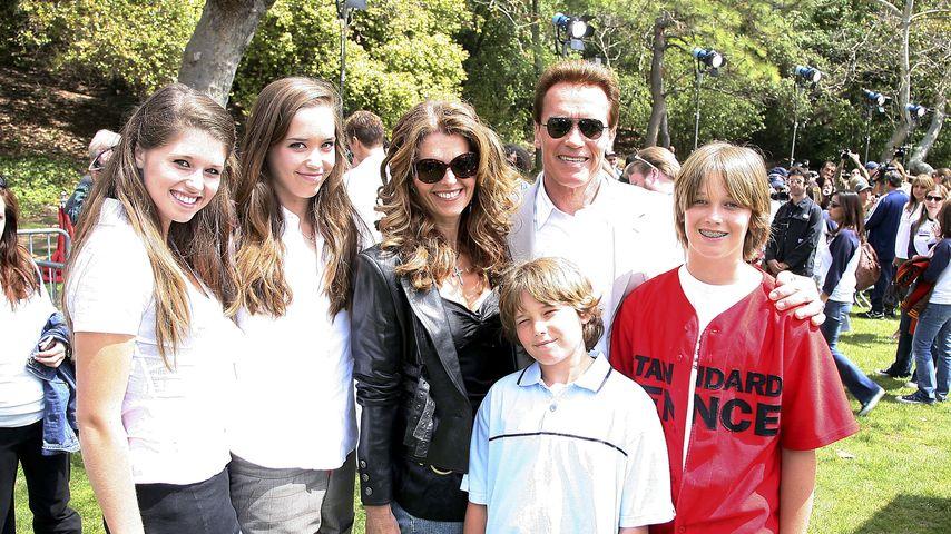 Trip mit Tracht: Arnold Schwarzenegger bei Weißwurstparty!
