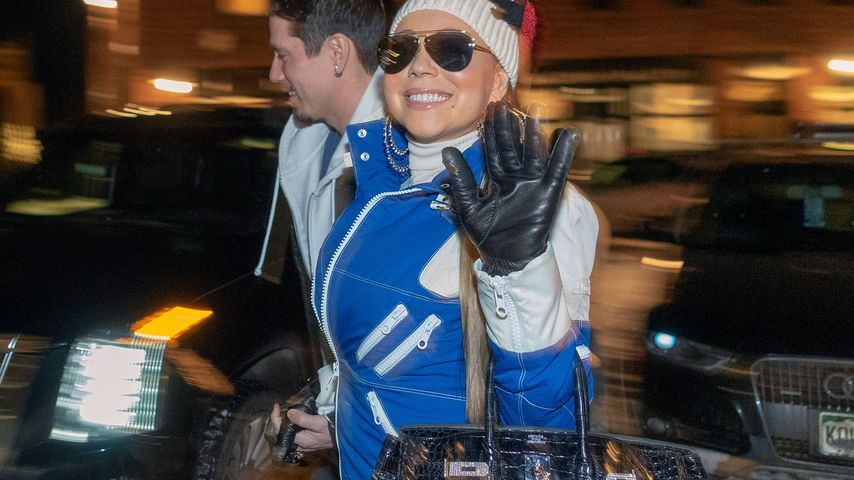 Sängerin Mariah Carey in Aspen