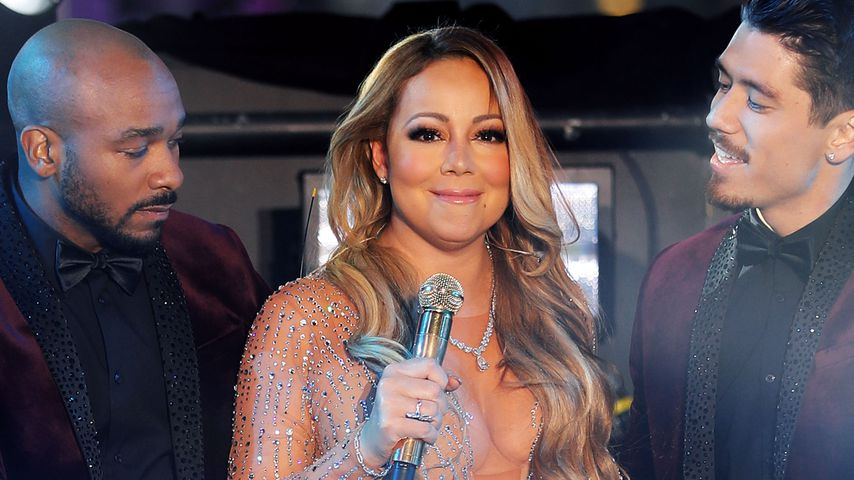 Mariah Carey bei einem Auftritt in New York