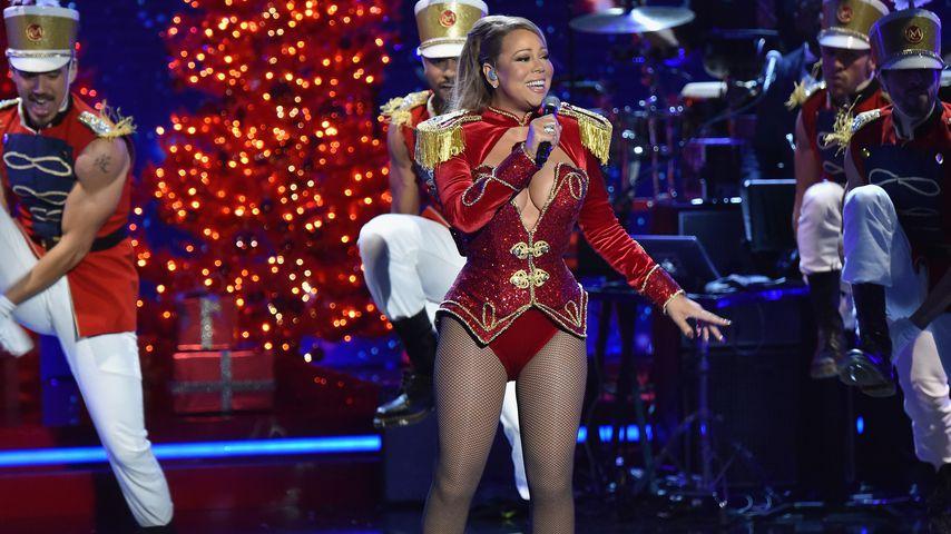 """Mariah Carey im Dezember 2016 beim """"VH1's Divas Holiday""""-Konzert in New York"""