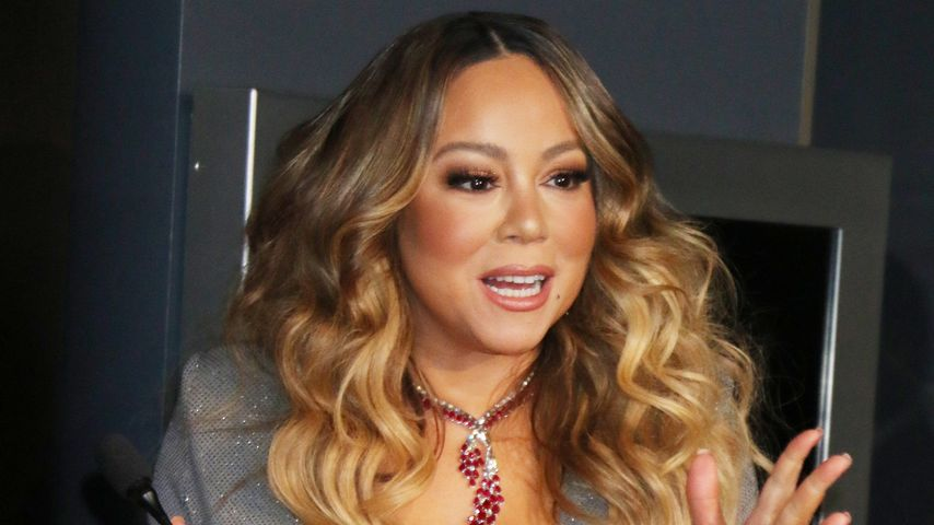 Mariah Carey im Dezember 2019
