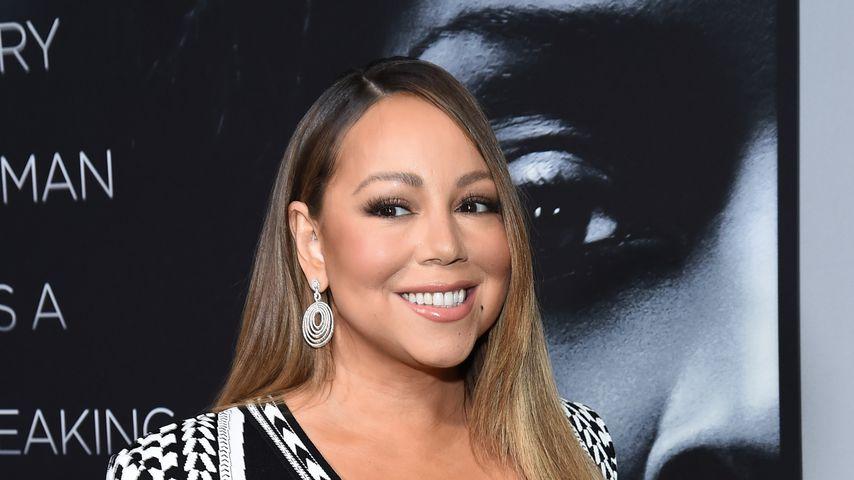 Mariah Carey im Januar 2020 in New York