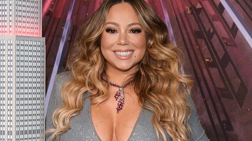 Mariah Carey bei einem Event in NYC im Dezember 2019