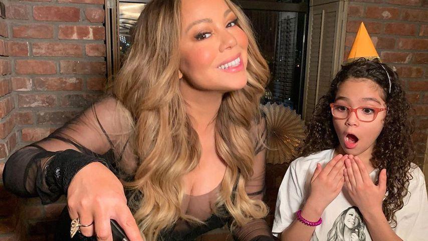 Mariah Carey und ihre Tochter Monroe