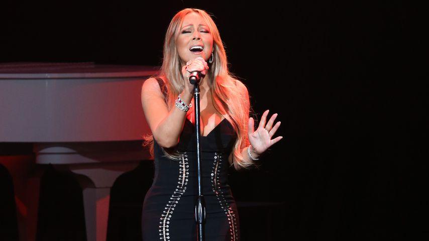 Mariah Carey beim AHF World Aids Day-Konzert 2017