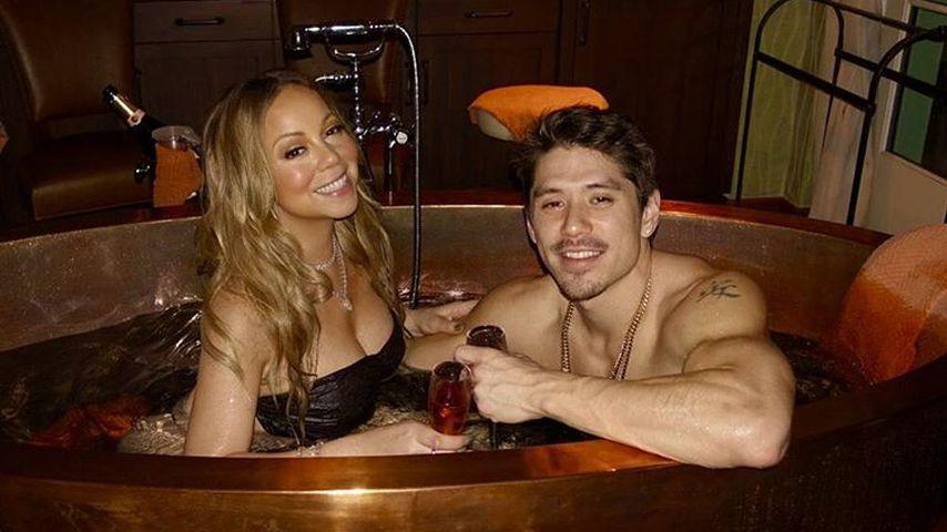 Mariah Carey und Bryan Tanaka