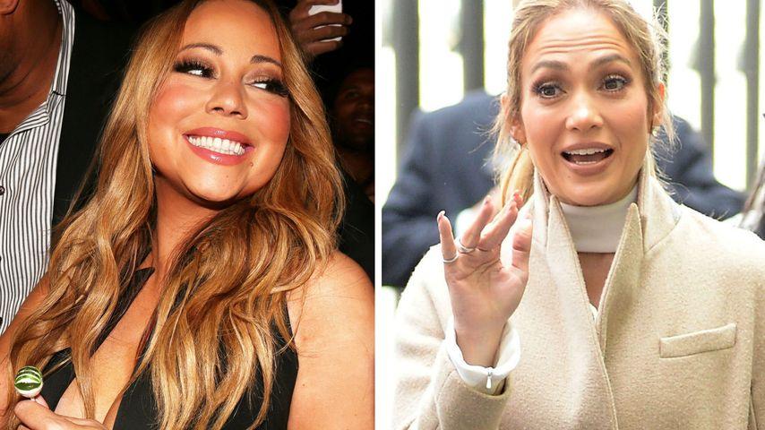 """Mariah Carey disst wieder: """"Ich kenne Jennifer Lopez nicht!"""""""