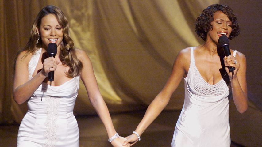 Mariah Carey und Whitney Houston bei den Academy Awards 1999