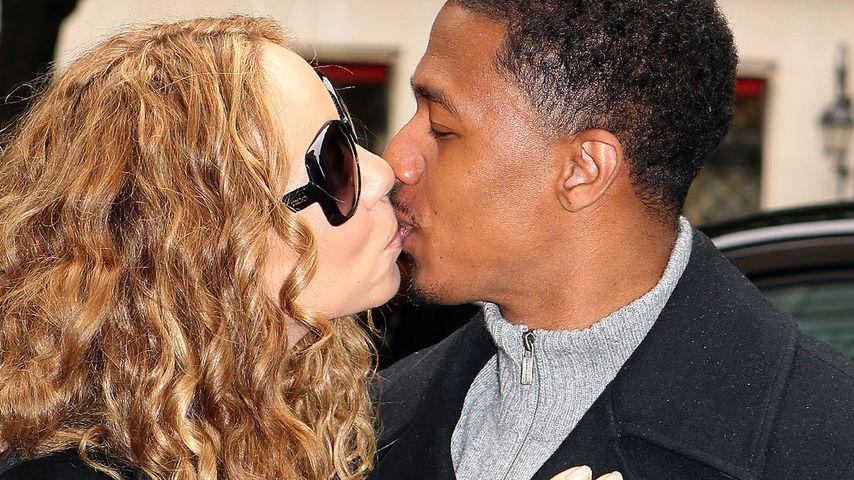 So verliebt: Hier knutscht Mariah Carey ihren Nick