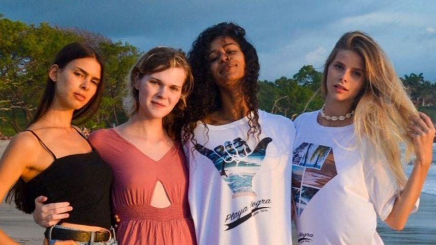 Marie, Lucy, Lijana und Larissa, Kandidatinnen bei GNTM 2020
