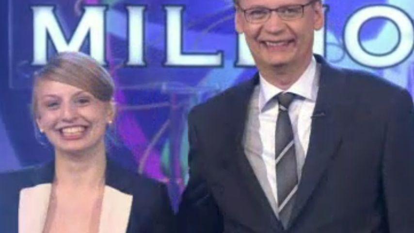 WWM: Kuss für Günther Jauch - bringt das Glück?