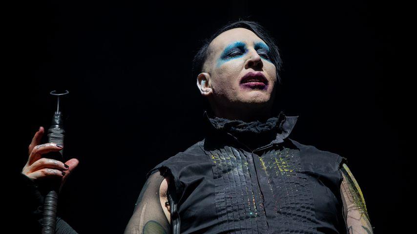 Marilyn Manson beim Astroworld Festival, 2019