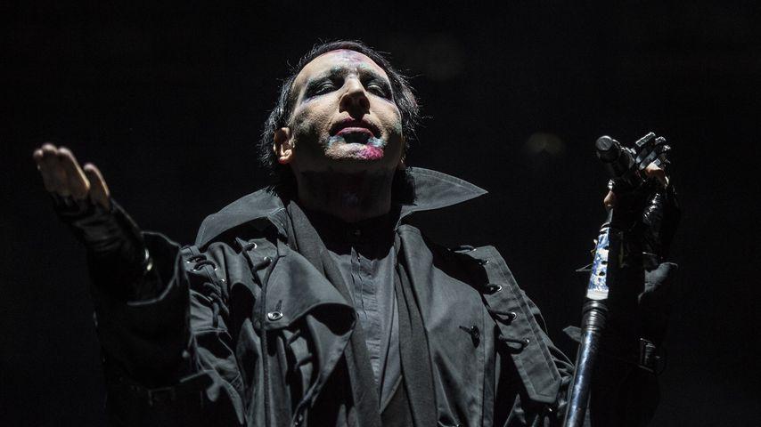 Marilyn Manson: Nervenzusammenbruch auf der Bühne