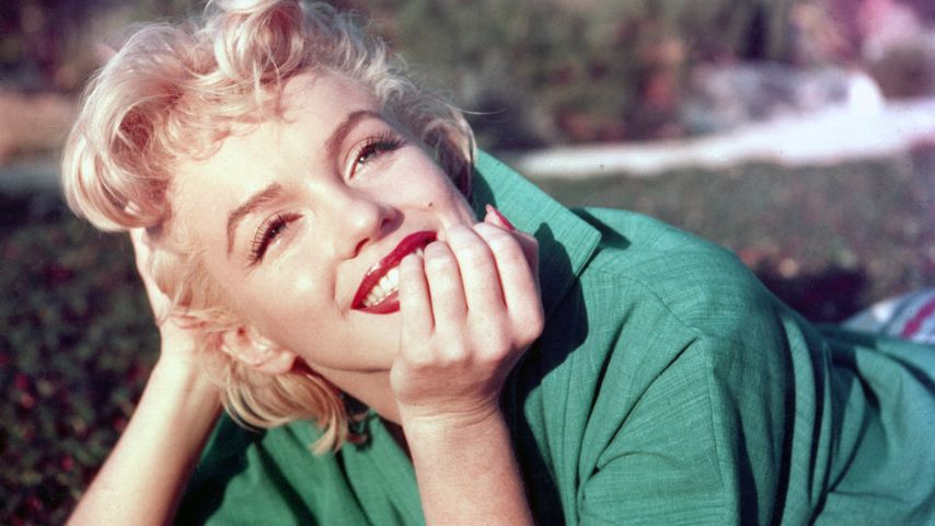 Marilyn Monroe 1954 in Palm Springs, Kalifornien