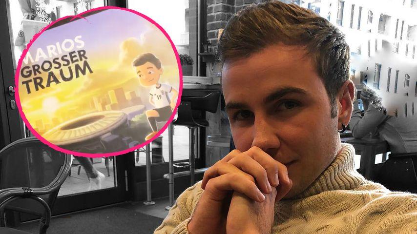 Vom Kicker zum Autor: Mario Götze bringt Kinderbuch heraus!