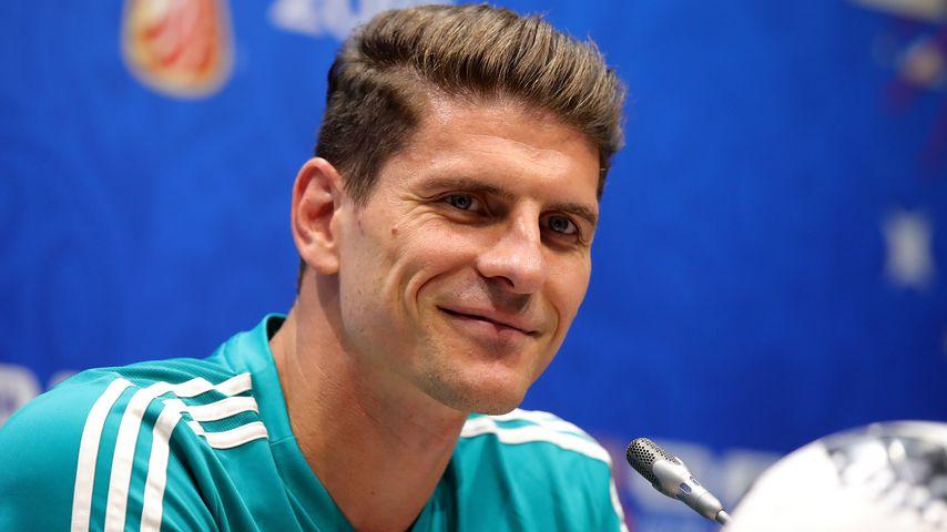 Fußballspieler Mario Gomez