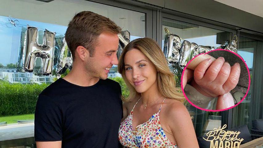 Endlich: Ann-Kathrin und Mario Götze sind Eltern geworden
