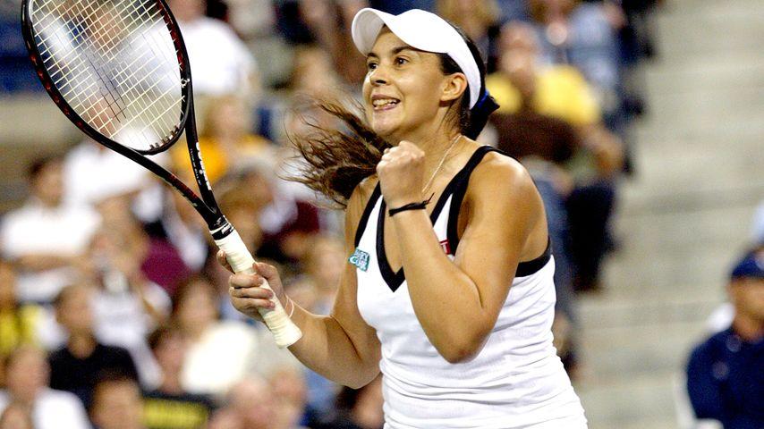 Marion Bartoli 2008 bei den US Tennis Open