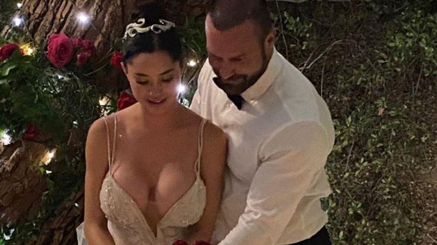 Marisol und Bastian Yotta bei ihrer Hochzeit 2021