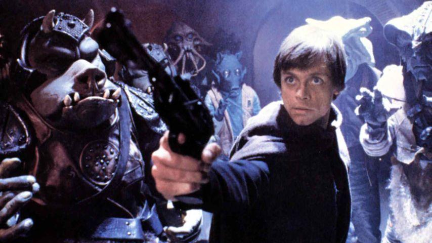 """Mark Hamill als Luke Skywalker in """"Star Wars: Die Rückkehr der Jedi-Ritter"""""""