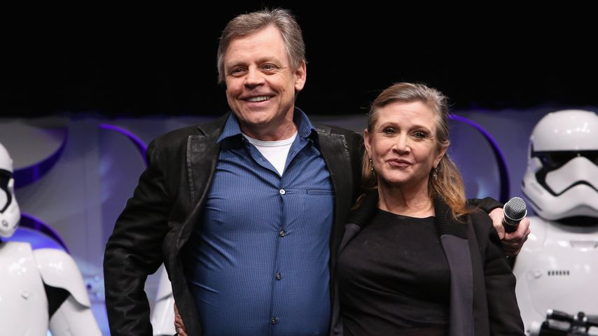 """Danke Carrie"": Mark Hamill trauert um ""Star Wars""-Schwester"