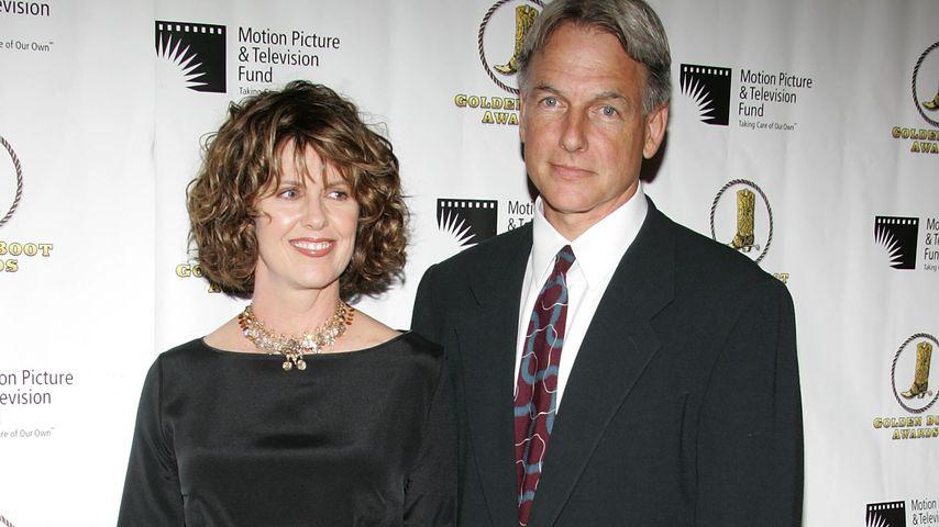 Mark Harmon und seine Frau Pam Dawber in Beverly Hills, 2005