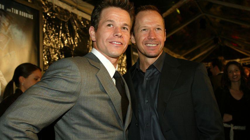 "Mark Wahlberg & Donnie Wahlberg auf der ""The Truth About Charlie""-Premiere"