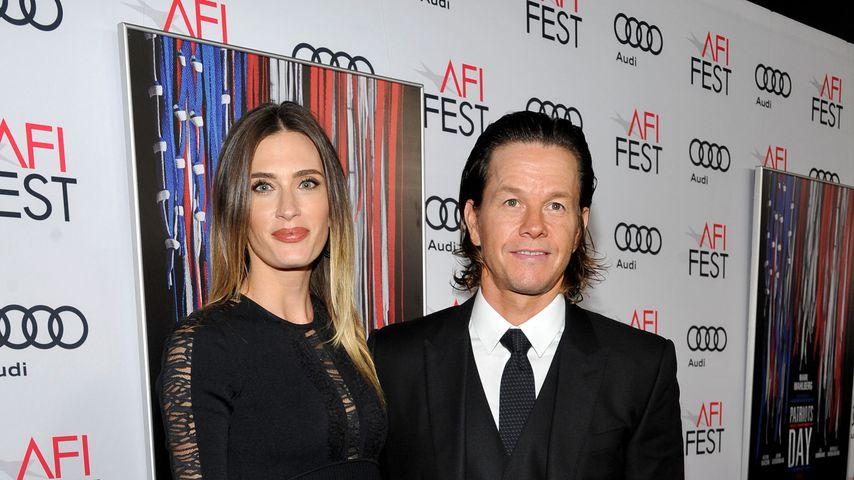 Mark Wahlberg und seine Frau Rhea im November 2016 in Hollywood