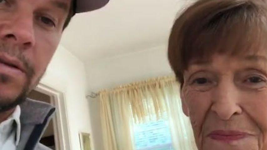 Mark Wahlberg und Alma Elaine Donnelly