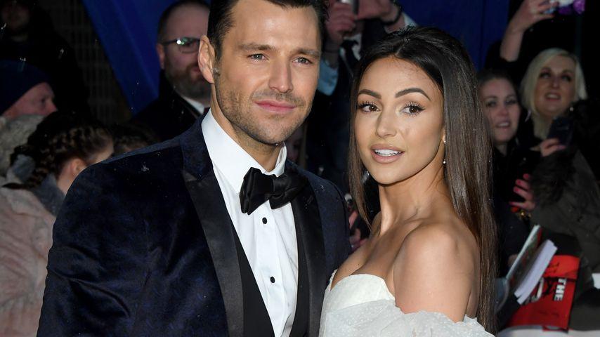 Mark Wright und seine Frau Michelle Keegan bei den National Television Awards in London 2019